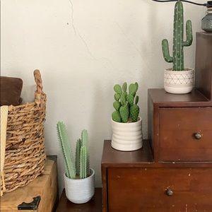 Other - Faux Cactus succulent bundle